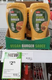 Coles 365mL Special Burger Sauce Vegan