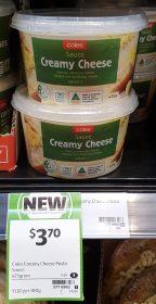 Coles 425g Sauce Creamy Cheese