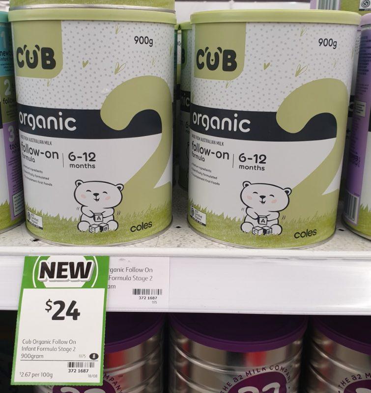 Cub 900g Follow On Organic 2