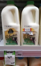 Dairy Farmers 2L Milk A2 Goodness Prebiotic
