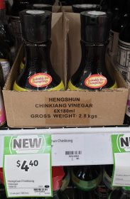 Hengshun 180mL Vinegar Chinkiaing