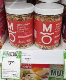 Murray River Organics 400g Muesli Apple & Cinnamon