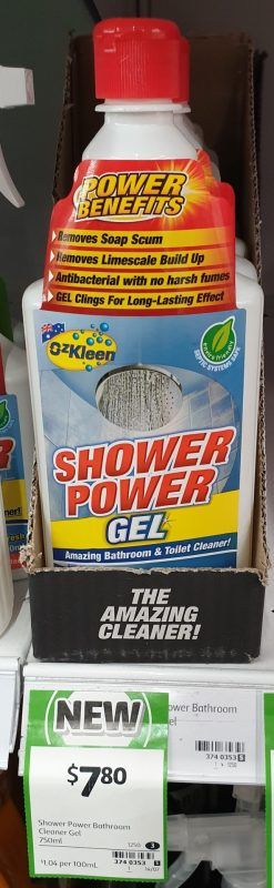 Oz Kleen 750mL Shower Power Gel