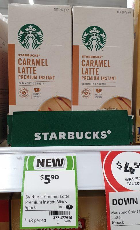 Starbucks 70g Caramel Latte Premium Instant