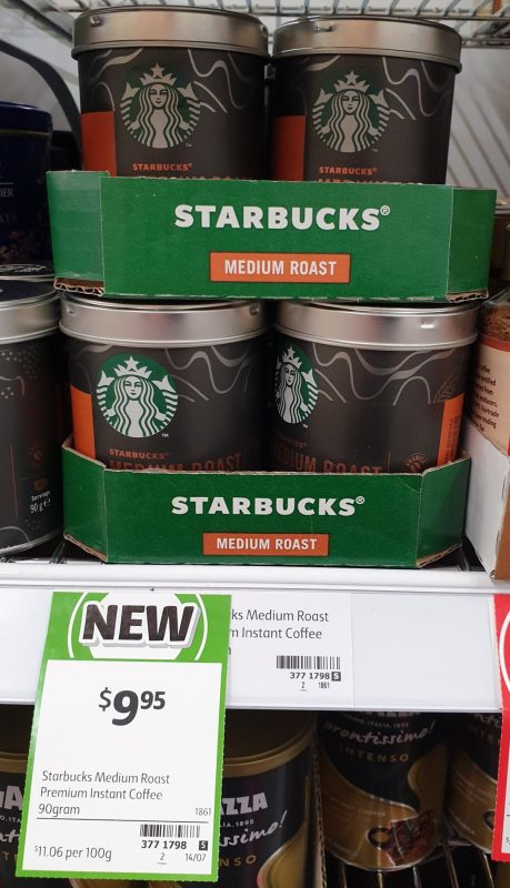 Starbucks 90g Premium Instant Medium Roast