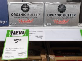 The Organic Milk Company 250g Butter Organic Unsalted