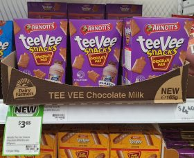 Arnott's 165g TeeVee Snacks Chocolate Milk