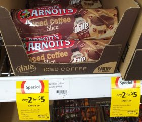 Arnott's 185g Biscuits Slice Dare Iced Coffee