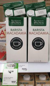 Australias Own 1L Macadamia Milk Barista