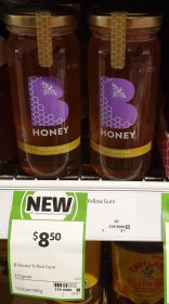B Honey 325g Honey Yellow Gum