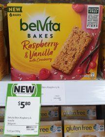 Belvita 180g Bakes Raspberry & Vanilla