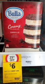 Bulla 560mL Creamy Classics Ice Cream Sandwich Vanilla