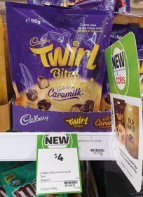 Cadbury 110g Twirl Bites Caramilk