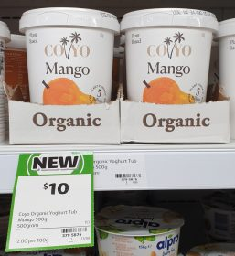 CoYo 500g Plant Based Yoghurt Mango