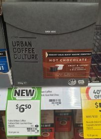 Coles 256g Urban Coffee Culture Hot Chocolate