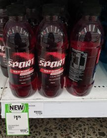 Coles 750mL Sport Isotonic Drink Wild Berry