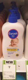 Curash 400mL Baby Soap Free Bath
