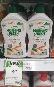 Cussons 350mL Botanicals Dishwashing Liquid Lemon Myrtle Mandarin Scent