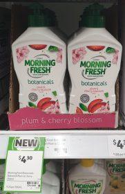 Cussons 350mL Botanicals Dishwashing Liquid Plum Cherry Blossom Scent