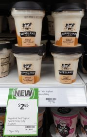 Gippsland Dairy 160g Yogurt Twist Apricot Honey