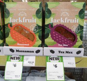 Hudsons 250g Jackfruit Massaman, Tex Mex