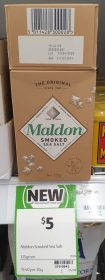 Maldon 125g Sea Salt Smoked