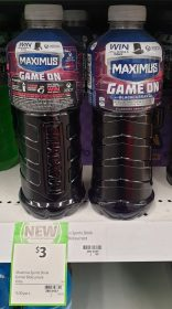 Maximus 1L Sports Drink Game On Blackcurrant