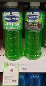 Maximus 1L Sports Drink Game On Lime