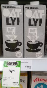 Oatly 1L Oat Milk Barista Edition