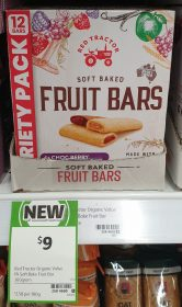 Red Tractor 360g Fruit Bars