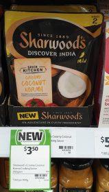 Sharwood's 250g Discover India Creamy Coconut Korma