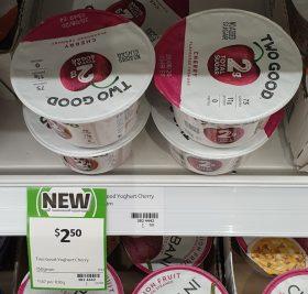 Two Good 150g Yoghurt Cherry