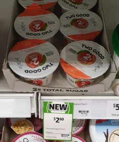 Two Good 150g Yoghurt Peach