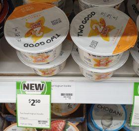 Two Good 150g Yoghurt Vanilla