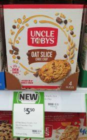 Uncle Tobys 140g Oat Slice Choc Chip