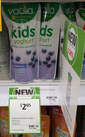 Vaalia 140g Yoghurt Kids Blueberry