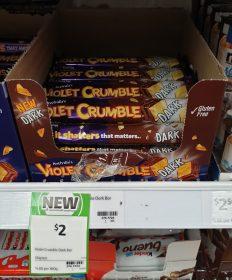 Violet Crumble 50g Dark