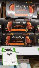 Wicked Sister Desserts 300g Panna Cotta Chocolate