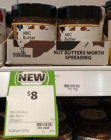 99th Monkey 200g ABC Butter