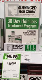 Advanced Hair Clinic 1 Pack 30 Day Hair Loss Treatment Program