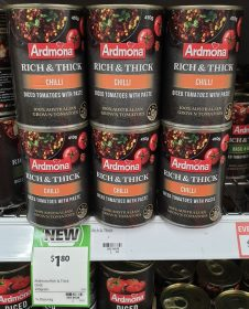 Ardmona 410g Diced Tomatoes With Paste Chilli