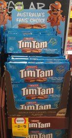 Arnotts 180g Tim Tam Double Choc Caramel Cream Flavour