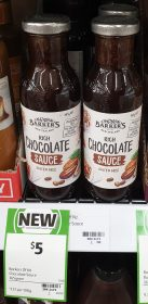 Barkers 365g Sauce Chocolate Rich