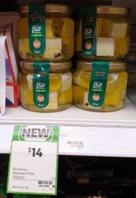 Bio Cheese 300g Marinated Fetta Dairy Free