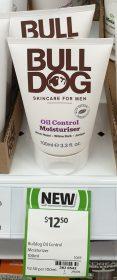 Bull Dog 100mL Moisturiser Oil Control