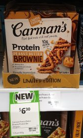 Carmans 200g Protein Bar Peanut Butter Brownie