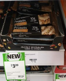 Carmans 40g Bar Protein Salted Caramel Nut Butter