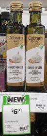 Cobram Estate 250mL Extra Virgin Olive Oil Garlic Infused