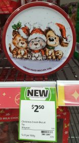 Coles 110g Biscuits Cream Filled Tin