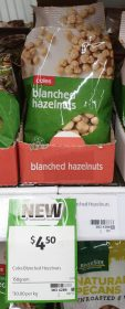 Coles 150g Blanched Hazelnuts
